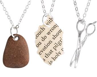 Rock Paper Scissors - Friendship Necklaces