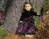 Hot pink sequins dress up your American Girl doll