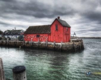 Motif #1 Fine Art  Photographic Print, Rockport Massachusetts