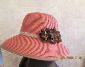 Women's Hat -  Bucket Style Hat - Dress Hat - Casual Hat - Derby Hat - Easter Hat