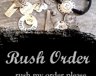 Rush Order- 1 business day turnaround