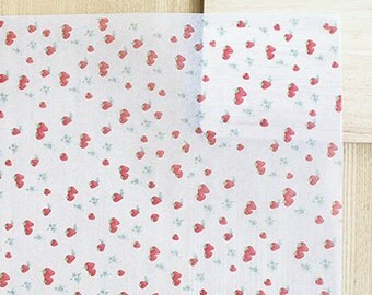 20 Natural Pulp Vegetable Wax Papers - Strawberry (13.8 x 9.8in)