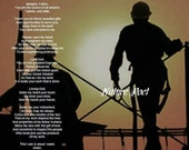 Engineer's Prayer While Working Reproduction Downloadable Printable Digital Art Image Instant Download