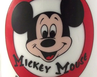 Mickey Mouse Club Pedestal Mug, Vintage Ceramic Cup