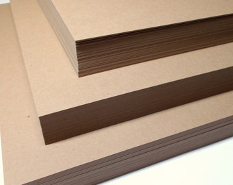 A7 Invitation CLASSIC KRAFT 100lb Cardstock Set of 25 Wedding Stationery Supplies