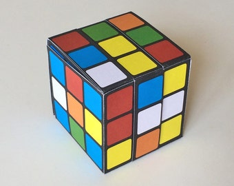 Paper Rubik's Cube
