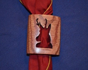 Boy Scout Wood Badge Antelope Neckerchief Slide or Woggle