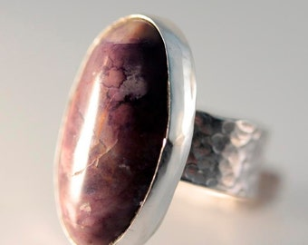 Tiffany Stone and Sterling Silver Ring