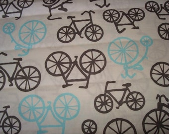 Bicycles Fabric - by Michael Miller -1 yard