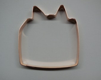 Christmas Present Box with Ribbons Cookie Cutter - Hand Crafted by The Fussy Pup