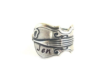 Customizable Violin Ring