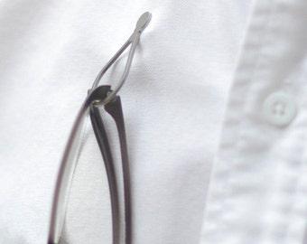 Magnetic Eye Glass Holder Steel-2