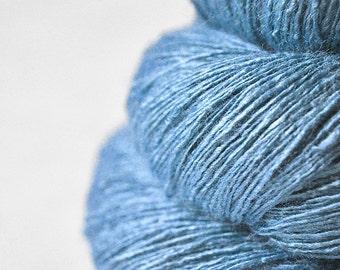 It's a boy - Tussah Silk Lace Yarn