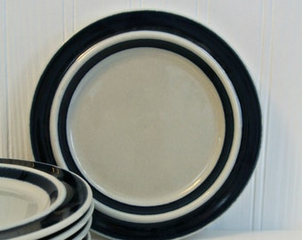 "Retro-Arabia of Finland ""Anenome"" 7-inch Plates FIVE total-Listing for ONE-(1)"