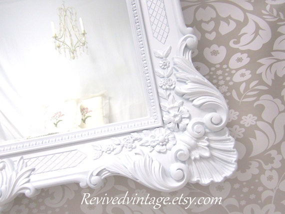 French country mirrors for sale framed white mirror for Large bedroom mirrors for sale
