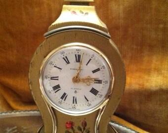 Vintage alarm clock Switzerland 8 day 15 jewls eisenhart