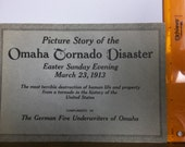 Omaha Tornado Disaster, Omaha Easter tornado, Omaha Nebraska 1913 tornado