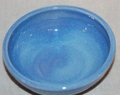 Cat Food Bowl - Matches fountains done in Lavender Blue