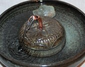 "Cat Fountain - Pet Fountain - Indoor Fountain - 9.5 Inch Diameter ""Panji Serene"""