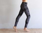 Printed Leggings - Yoga Pants - Organic Yoga Clothing - Patterned Leggings