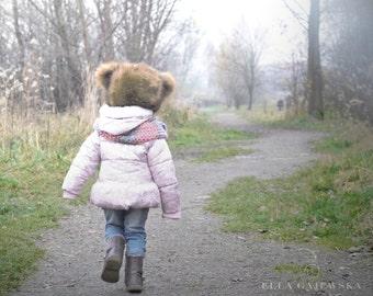 Kids and Baby Fashion Animal Hat - Teddy Bear Children's Hat - Cosy Winter Hats Toddler Accessory - Soft Fur Gift - Fleece Lining