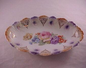 Porcelain Serving Bowl Made in Bavaria