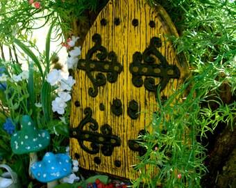 Large fairy Door Set, Fairy Garden kit, Garden fairy doors, fairy garden decor, fairy door kit, gnome door, woodland decor, 402