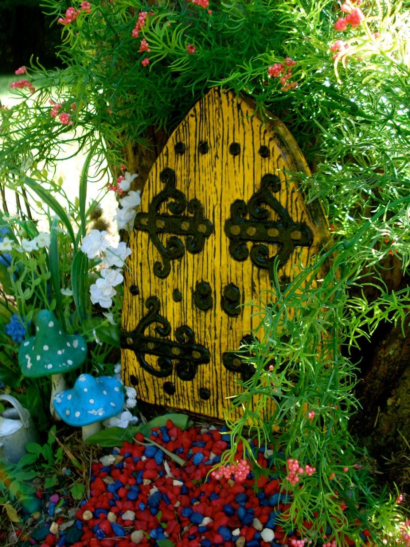 Large fairy door set fairy garden kit garden fairy doors for Fairy door with fairy