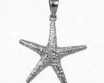 Sea Star charm in 925 Sterling Silver