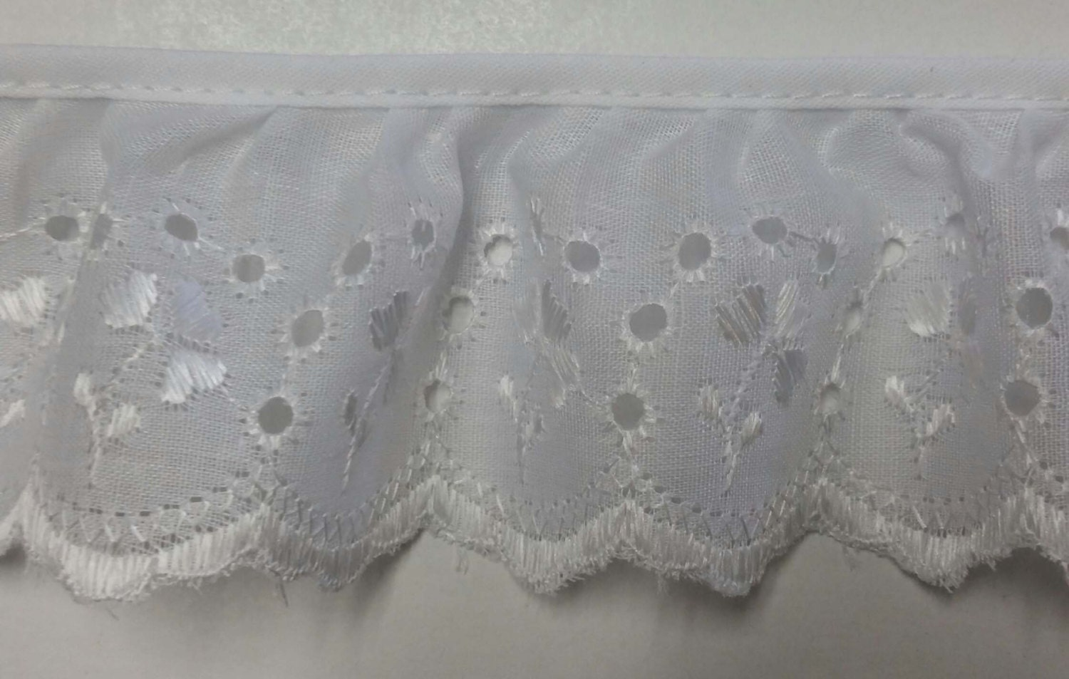 You searched for: ruffled cotton eyelet trim! Etsy is the home to thousands of handmade, vintage, and one-of-a-kind products and gifts related to your search. No matter what you're looking for or where you are in the world, our global marketplace of sellers can help you find unique and affordable options.