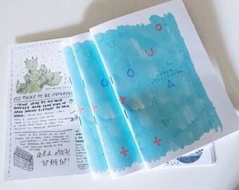 Tokyo Sketchbook zine