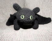 How to Train your Dragon: Night Fury Crochet Pattern