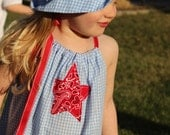 Shining Star Hat & Dress - Size 2T - READY to SHIP!
