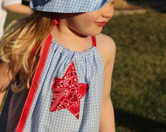 Shining Star Hat & Dress - Size 2T - READY to SHIP!