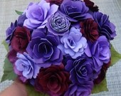 Special Order for Trawick Paper  Flower Summer  Wedding Bouquet