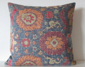 Bohemian Jewel distress colorful decorative pillow covers