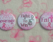 Breast Cancer Magnets - Buttons - Key Chains - Pocket Mirror