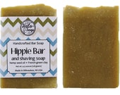 Hemp Oil Bar Soap - Hippie Bar Soap - Vegan - Shaving Soap