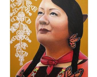 True Beauty - Jenny Blakcbird -  By Toronto Portrait Artist Malinda Prud'homme