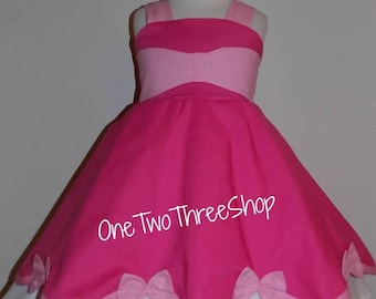 Cinderella Pink Dress Custom Boutique Clothing  Inspired  Sassy Girl