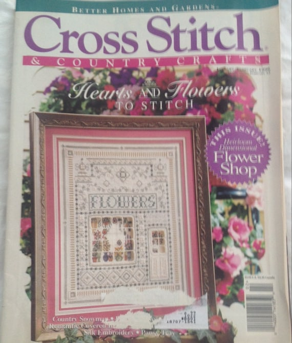 JanFeb 1986 Back Issue Better Homes and Gardens Cross Stitch