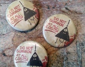 Gravity Falls Bill Cipher Pinback Button - Do Not Summon!