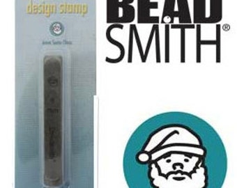 Santa Claus Metal Stamp - 6 mm-Hand Stamping Supplies for Personalized Jewelry-Square Shank