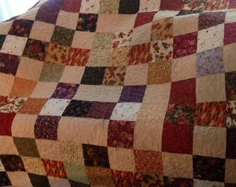 Quilted Fall Lap