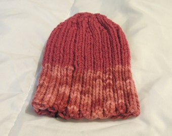 Clearance Knitted Baby Hat /  Ready To Ship  Size 3-6 Month / Great  Photo Prop