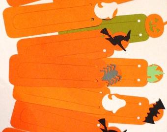 Halloween Bookmarks - Set of 12