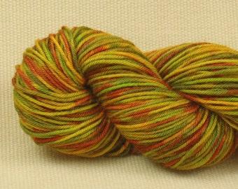 Hand Dyed Fingering Weight Sock Yarn - Multicolor Madness - Superwash Merino Nylon Blend Yarn