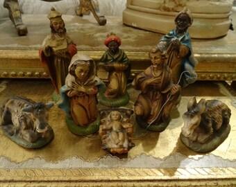 Popular Items For Italian Nativity Set On Etsy