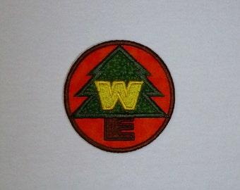 Wild Explorer appliqued patch