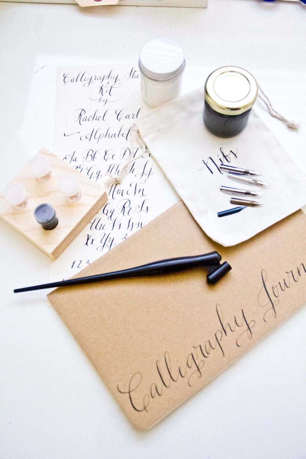 Calligraphy starter kit with gift box ships quickly by